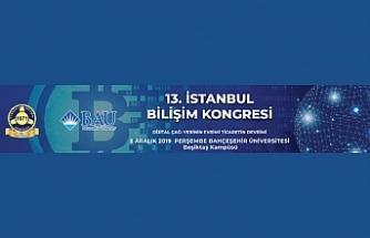 13. İstanbul Bilişim Kongresi 5 Aralık'ta