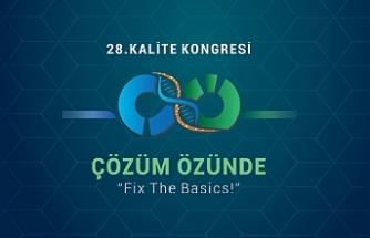 """28. Kalite Kongresi ve Türkiye Mükemmellik Ödül Töreni,toplumsal konulara odaklandı; Çözüm Özünde""""Fix The Basics!"""""""