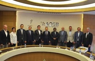 AOSB'de Bangladeş heyeti