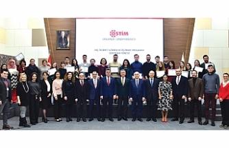 OSTİM OSB'de dış ticaret eğitiminde mezuniyet heyecanı