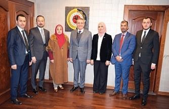 Iraklı kadın milletvekilleri, işbirliği için Samsun'daydı