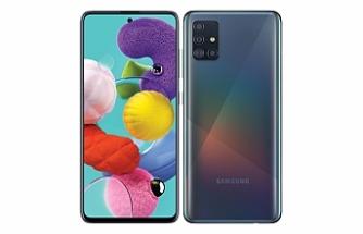 Samsung'un yeni Galaxy A51 modeli Türkiye'de