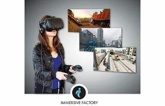 VR tabanlı sağlık, güvenlik ve çevre eğitimleri geliştiricisi Immersive Factory'ye 1 milyon euro yatırım