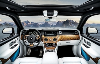 Rolls-Royce'un ilk SUV'u Cullinan