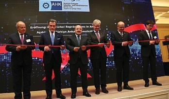 Alman-Türk Ticaret ve Sanayi Odası Ankara Ofisi açıldı