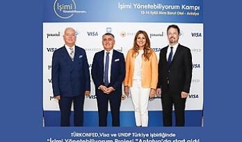 """TÜRKONFED, Visa ve UNDP işbirliğiyle """"İşimi Yönetebiliyorum"""""""
