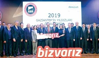 Gaziantep'in Yıldızları'na ödül