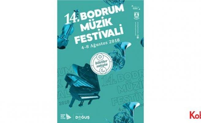 14. Bodrum Müzik Festivali, 4-8 Ağustos'ta