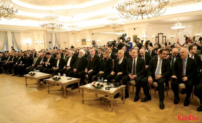 Türkiye ile İran 30 milyar dolarlık ticaret hacmi hedefliyor