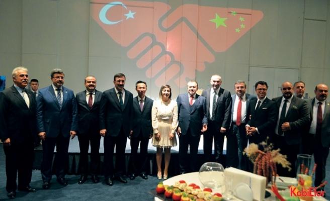 Türkiye'den Çin'e iş köprüsü