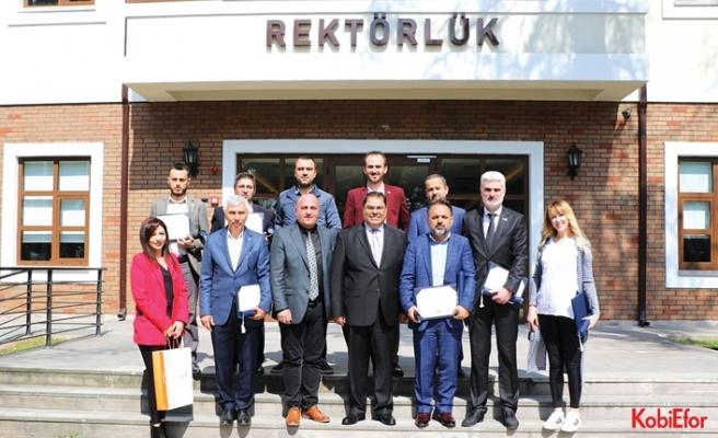 GEPOSB Yüksek Lisans Diploması'nı GTÜ'den aldı