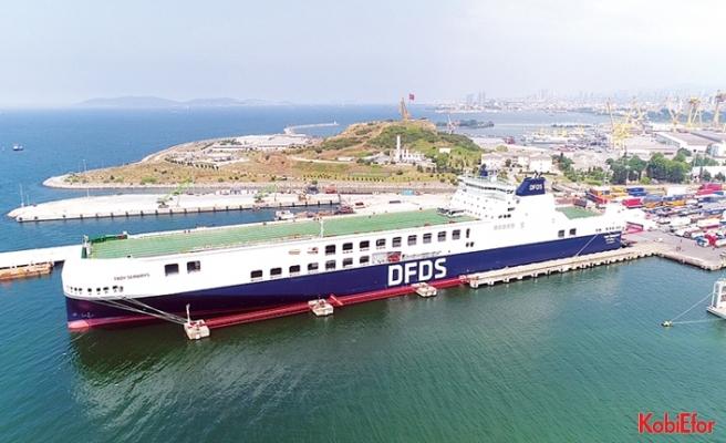 DFDS'nin en yeni gemisi,Türkiye'nin hizmetinde