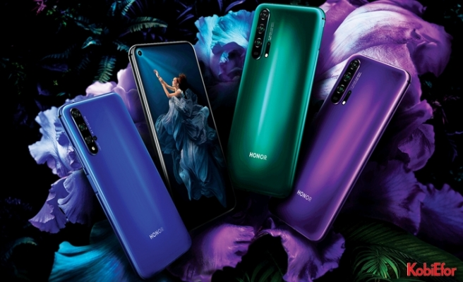 HONOR'dan yeni performans canavarı;dört kameralı HONOR 20 PRO
