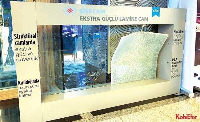 Şişecam Ekstra Güçlü Lamine Cam ürünleri dikkat çekiyor