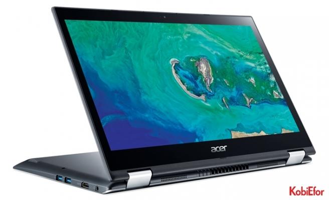 Acer'ın Spin 3 dönüştürülebilir şık dizüstü bilgisayarı Türkiye'de