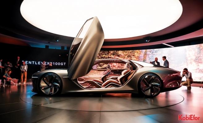 Bentley'den 100. yılına özel konsept otomobil: Bentley EXP 100 GT
