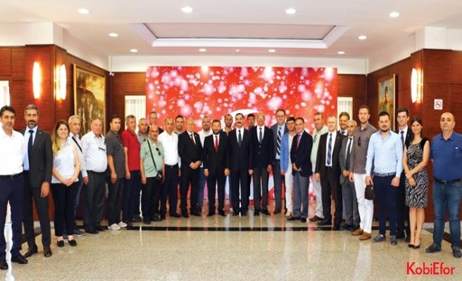 Çerkezköy TSO Azerbaycan'da