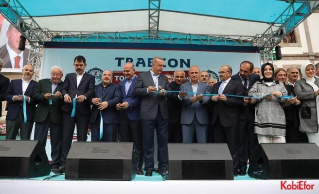 Cumhurbaşkanı Recep Tayyip Erdoğan, Trabzon'a müjde verdi