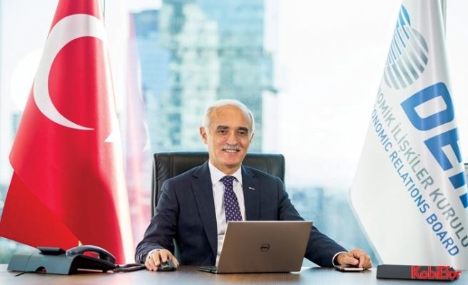 DEİK Başkanı Nail Olpak:DEİK Türkiye ekonomisini temsil ediyor