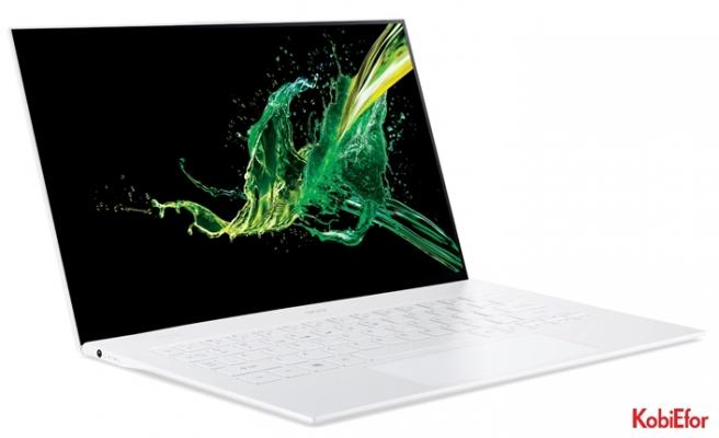 Acer Swift 7 inceliğiyle dikkat çekiyor