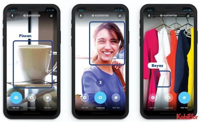 Türk Telekom'un EyeSense uygulaması ile görme engelliler renkleri ayırt edebiliyor