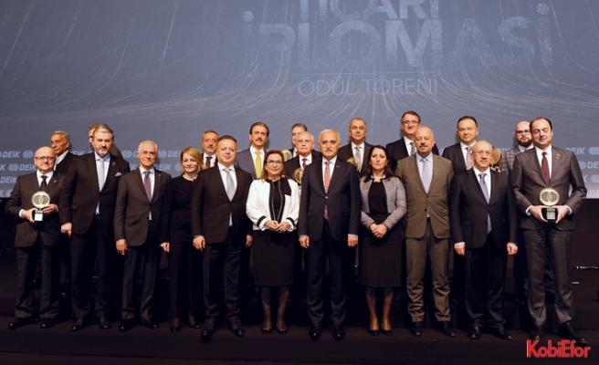 """DEİK Ticari Diplomasi Ödülleri verildi:""""İşimiz Ticari Diplomasi:Business Diplomacy"""""""