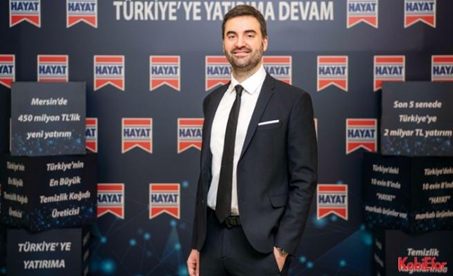 """Hayat Kimya Türkiye Genel Müdürü Enes Çizmeci;""""Dünyada Hayat var"""""""