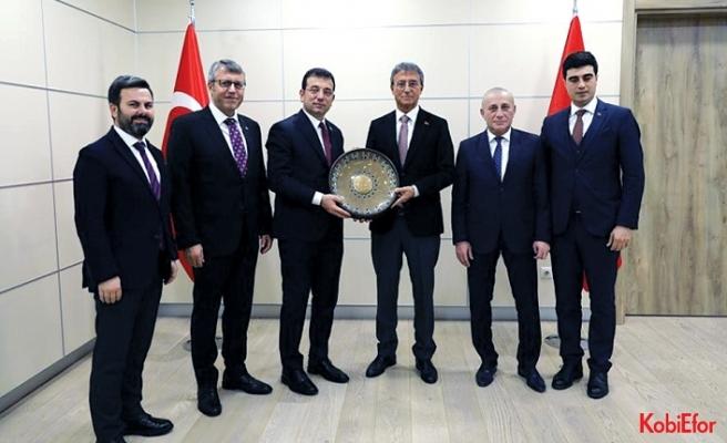 Tuzla OSB'lerinden İBB Başkanı Ekrem İmamoğlu'na ziyaret