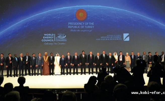 23. Dünya Enerji Kongresi dünya liderlerini ağırladı