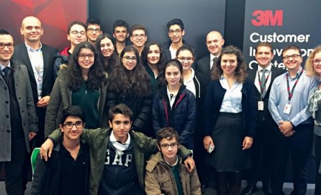 3M Türkiye'den Darüşşafaka Robot Kulübü'ne destek
