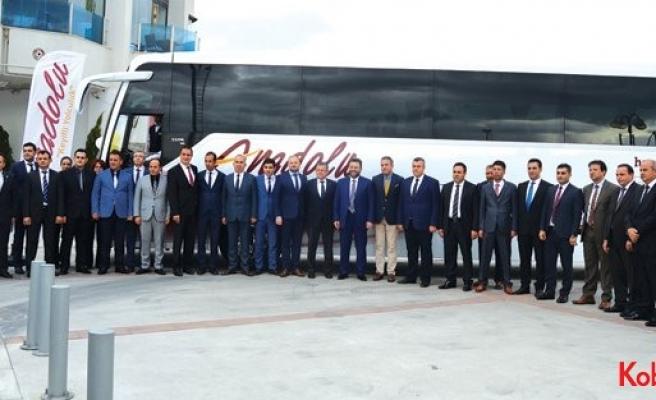 Anadolu Ulaşım ve TEMSA'nın İzmir buluşması