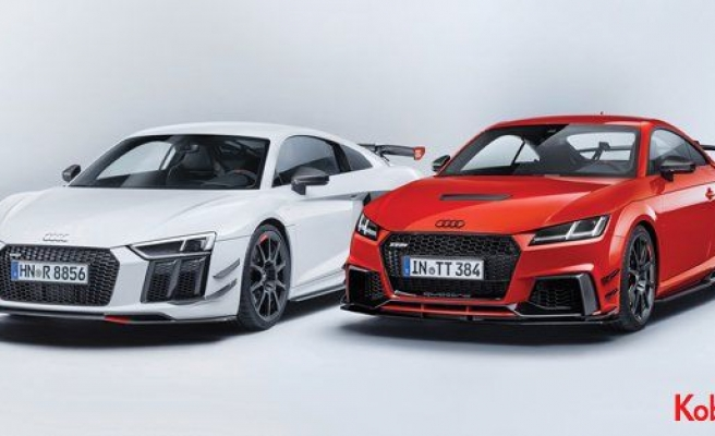 Audi Sport'dan performans parçaları