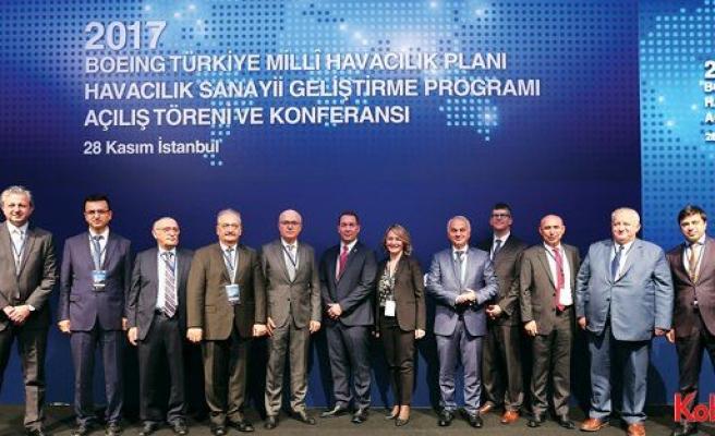 Boeing Türkiye Havacılık Sanayii Geliştirme Programı başladı