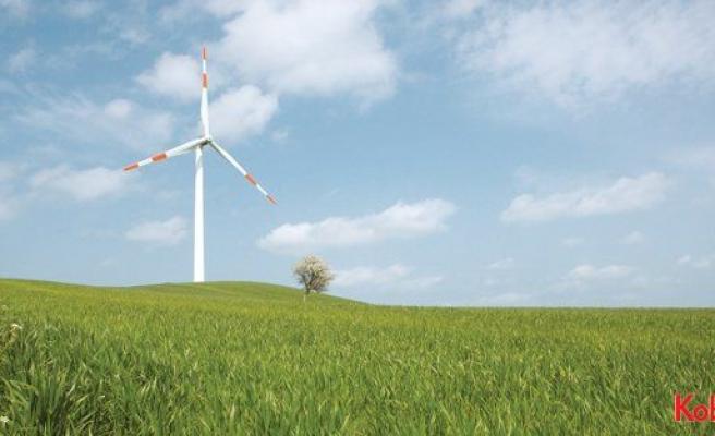 Çorum için rüzgar tribünleri enerji üretmeye başladı