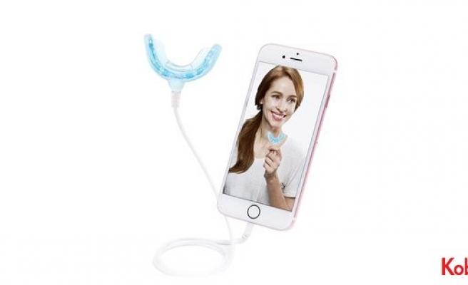 Diş beyazlatma teknolojisi cep telefonunda