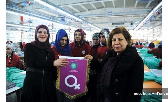 Diyarbakır OSB'de 33 işyerine Mor Bayrak
