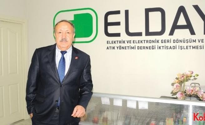 """ELDAY Genel Müdürü Muharrem Yamaç: """"Vizyon, hedef ve öngörü, başarıyı getirir"""""""