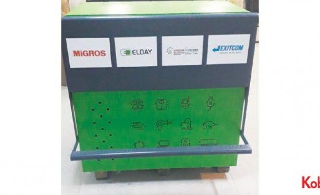 Elektronik atıklar Migros'ta toplanıyor