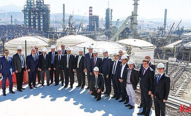 EPDK heyeti STAR Rafineri'yi ziyaret etti