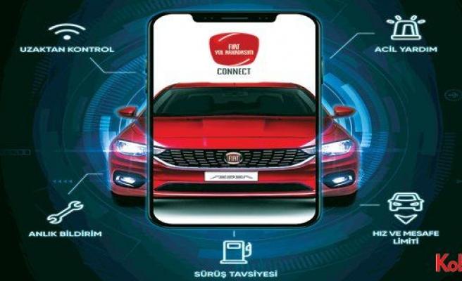 Fiat'tan otomobille sürücüyü birbirine bağlayan teknoloji