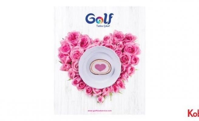 Golf Rulo Pasta ile düğünün tadını çıkarın!