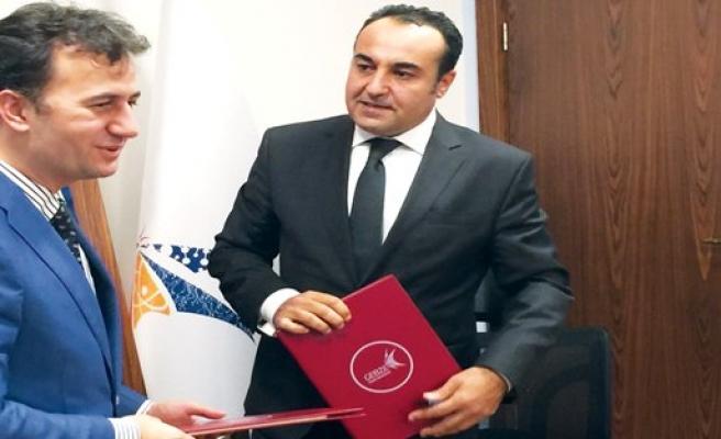 """Halkbank ile Gebze Teknik Üniversitesi """"Girişimcilerle İşbirliği"""" protokolü imzaladı"""