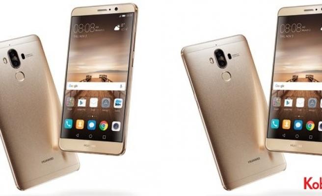 Huawei Mate 9'u tanıttı