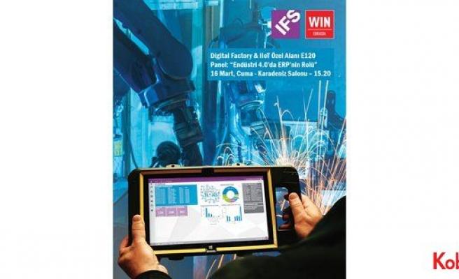 IFS, WIN EURASIA'da geleceğin fabrikalarını anlatacak