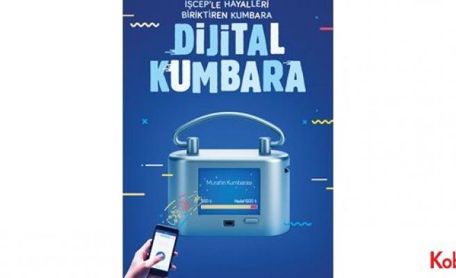 İş Bankası'ndan çocuklara Dijital Kumbara