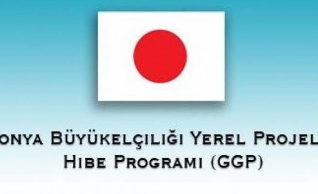 Japonya'dan dezavantajlı gruplara hibe destek