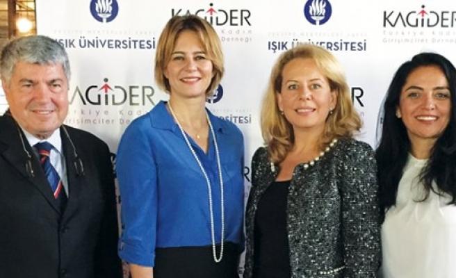 KAGİDER ve Işık Üniversitesi 'KAGİDER Pusula'da buluştu