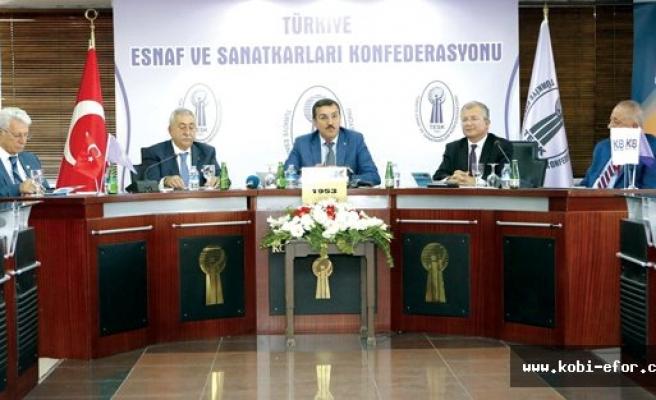 KKB ve TESK işbirliği protokolü imzalandı