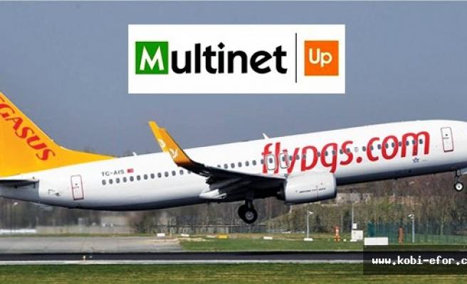 Multinet UP kartınız ile Pegasus Cafe'de ödeme yapabilirsiniz