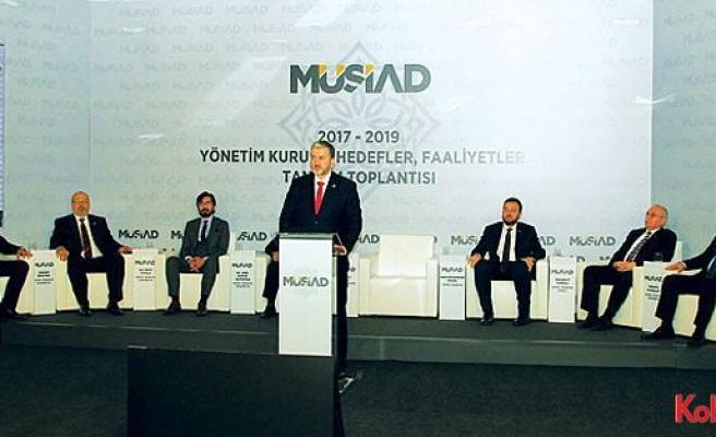 """MÜSİAD Başkanı Kaan açıkladı: """"KOBİ'ler için TOSİ'ler kuracağız"""""""